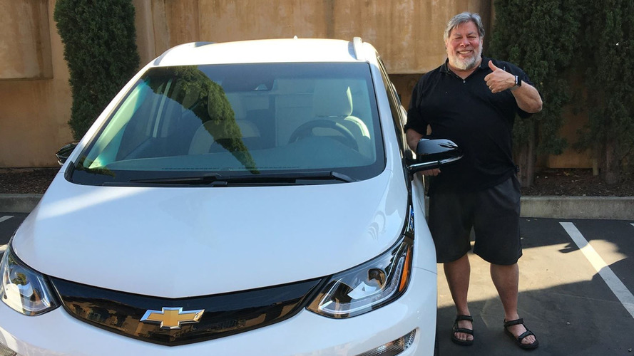 Steve Wozniak sonunda bir Chevy Bolt satın aldı