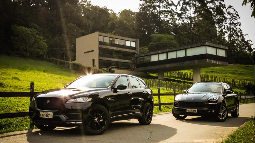 Teste: Jaguar F-Pace pega o Porsche Macan em seu primeiro desafio no Brasil