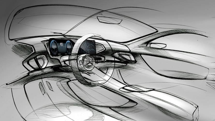 Mercedes tease l'habitacle du nouveau GLE