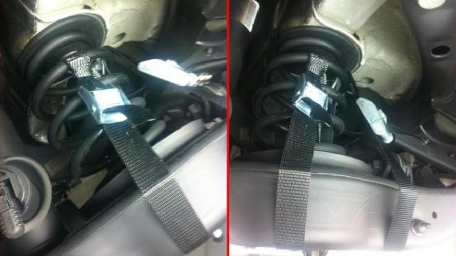 Volkswagen Golf GTI concept was held together by straps