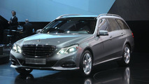 2014 Mercedes E-Class wagon live in Detroit 14.01.2013