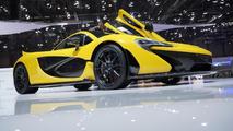 McLaren P1 production supercar at 2013 Geneva Motor Show
