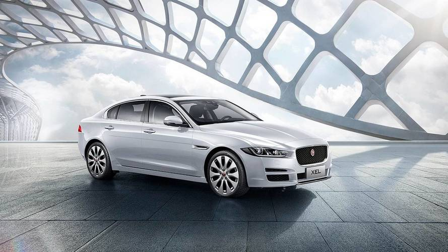 Jaguar XEL Fully Revealed For China With Elongated Wheelbase