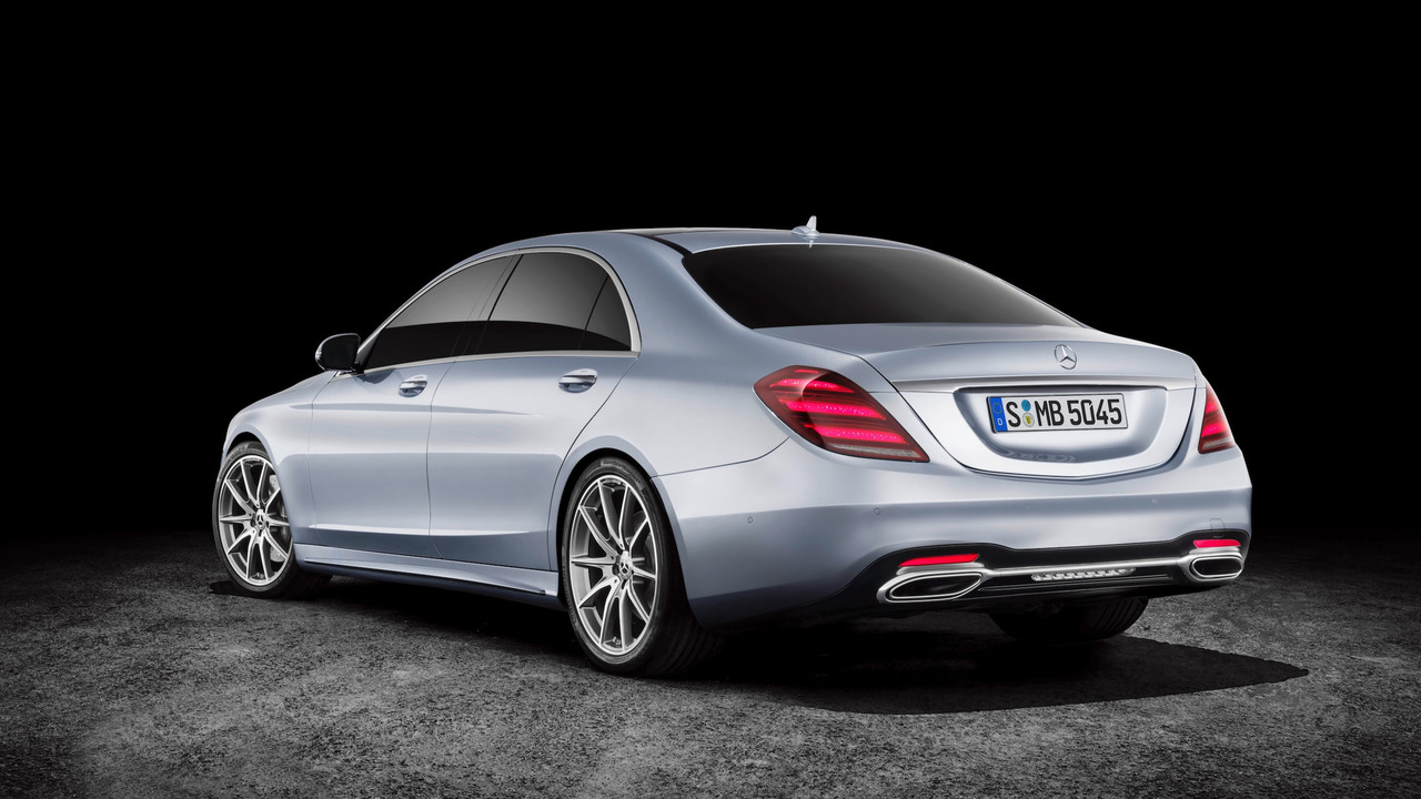 Facelifted 2018 mercedes benz s class for Mercedes benz s63 amg 2018