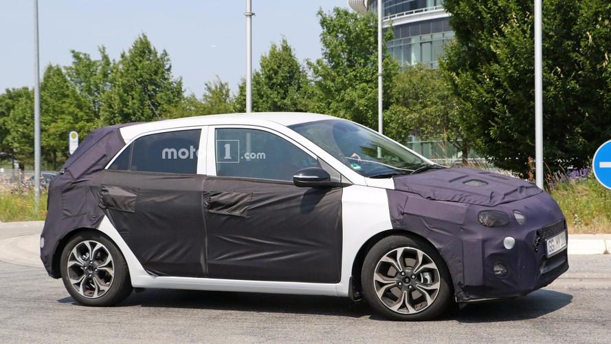Makyajlı Hyundai i20 testte yakalandı