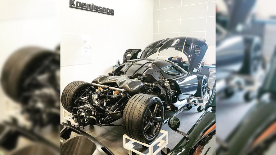 Crashed Koenigsegg Agera RS Gryphon To Make Full Recovery