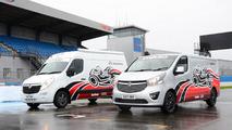 Vauxhall Movano Race Van Concept and Vivaro Race