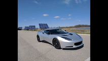 Electric Lotus Evora Blue Lightning
