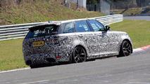Land Rover Range Rover Sport SVR Spy Pics