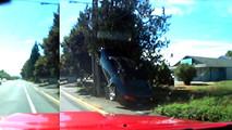 Chevrolet Camaro Telephone Pole