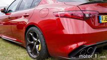 Alfa Romeo Giulia Quadrifoglio at 2017 Goodwood Festival of Speed