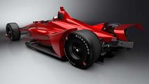 IndyCar 2018 car rendering