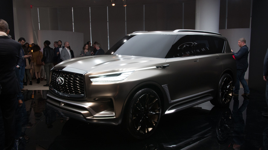 Infiniti QX80 Monograph Concept Previews Big SUVs To Come
