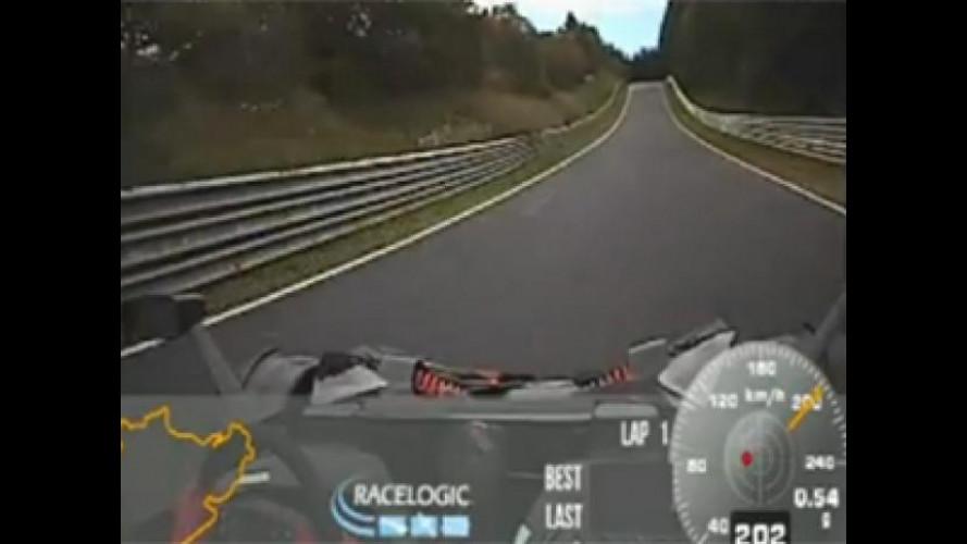 KTM X-Bow RR, un giro al Nurburgring in 7' 25