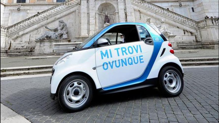 car2go di smart: fioccano le iscrizioni anche a Roma