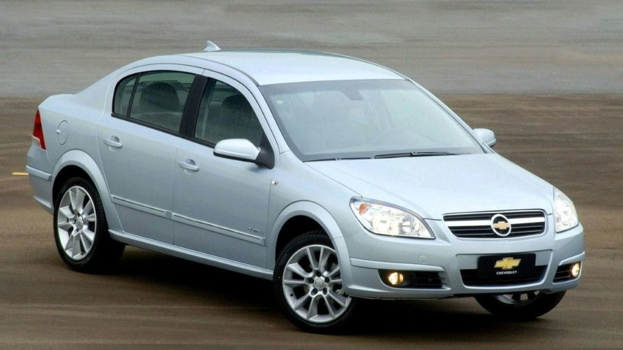 Brazilian Chevrolet Vectra Gets New Version
