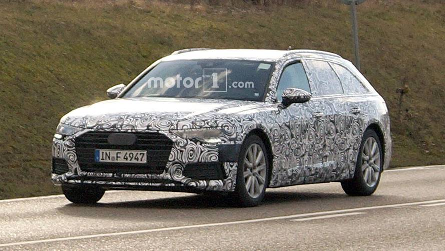 Next Audi A6 Avant Spied Showing Its Longer Roof