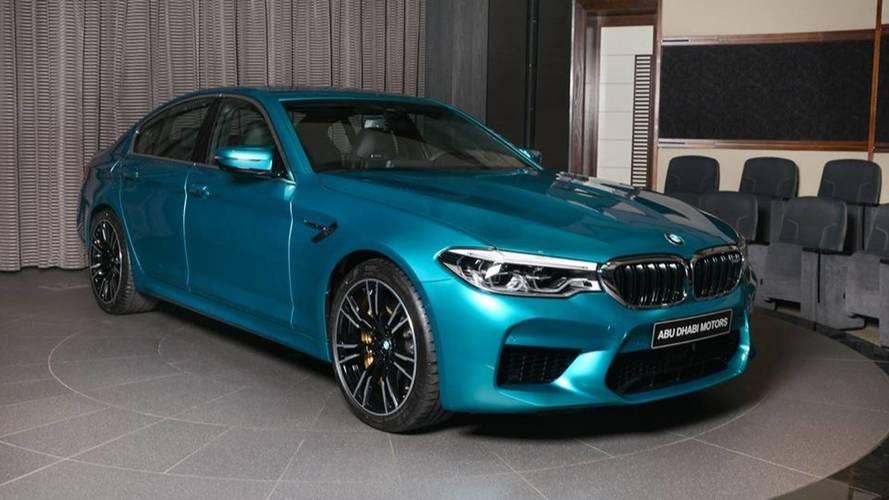 BMW M5 Snapper Rocks Blue