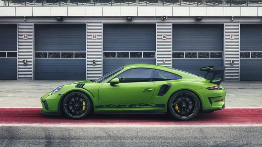 Porsche 911 GT3 RS, le prime foto