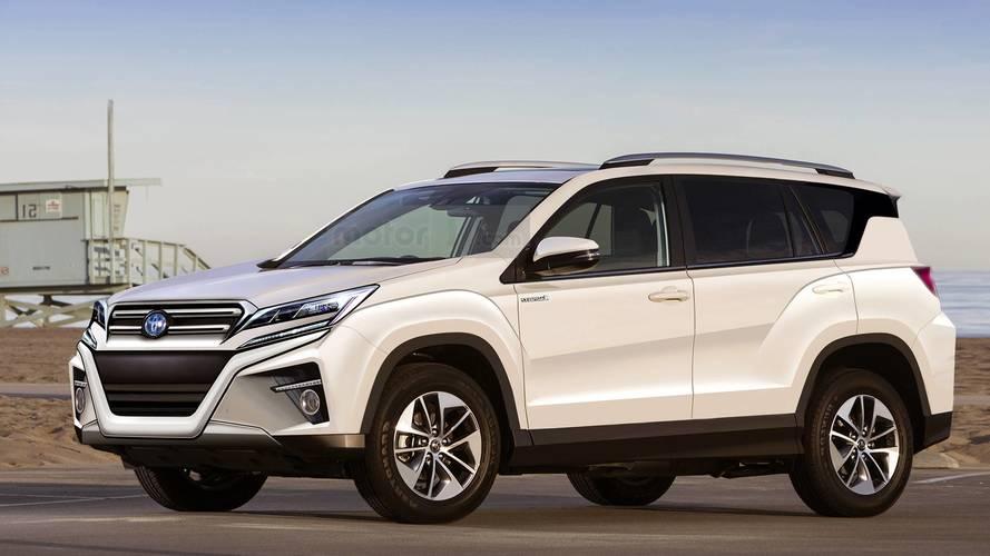 Yeni Toyota RAV4 böyle mi görünecek?