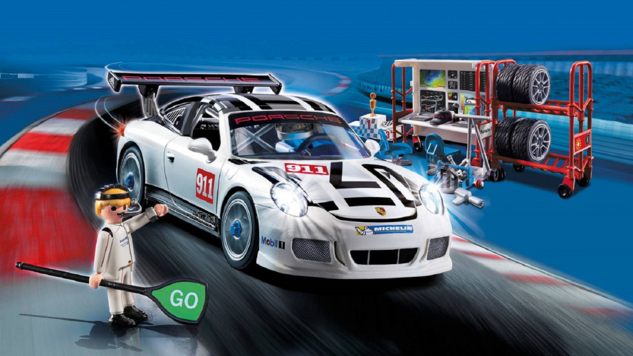 Porsche 911 GT3 Cup, versione speciale by Playmobil