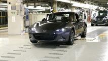 Mazda MX-5 RF production start in Japan