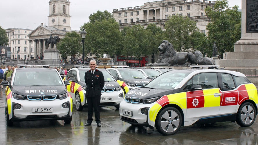 Londra İtfaiye Ekibi, BMW i3'ler ile elektrikleniyor