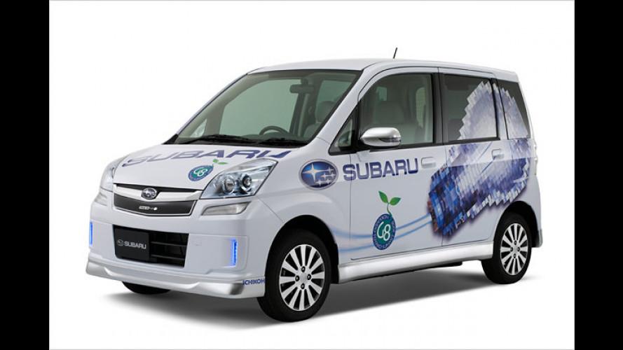 Sauberer Stern: Subaru erprobt Stella Plug-In Prototyp