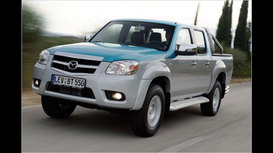 Pick me up: Der modellgepflegte Mazda BT-50 im Test