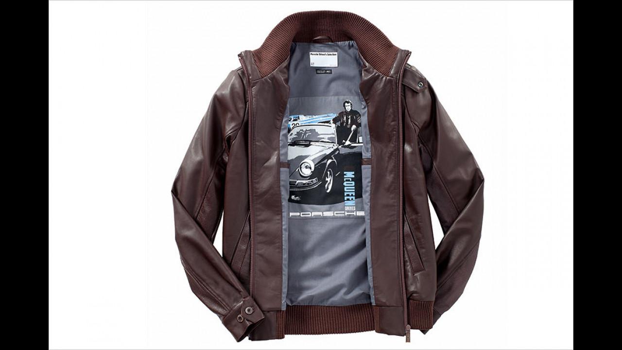 Steve McQueen-Lederjacke von Porsche
