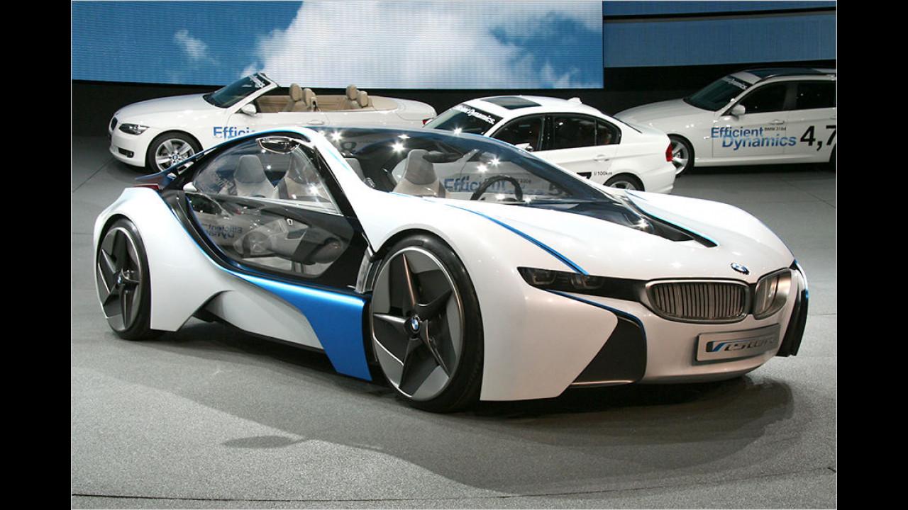 2009: BMW i8 als Studie
