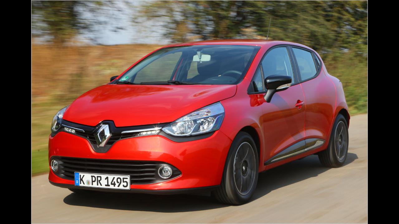 Die Klimabesten, Platz 3: Renault Clio ENERGY dCi 90 Start&Stop eco 83g, 83 Gramm CO2-Ausstoß je Kilometer