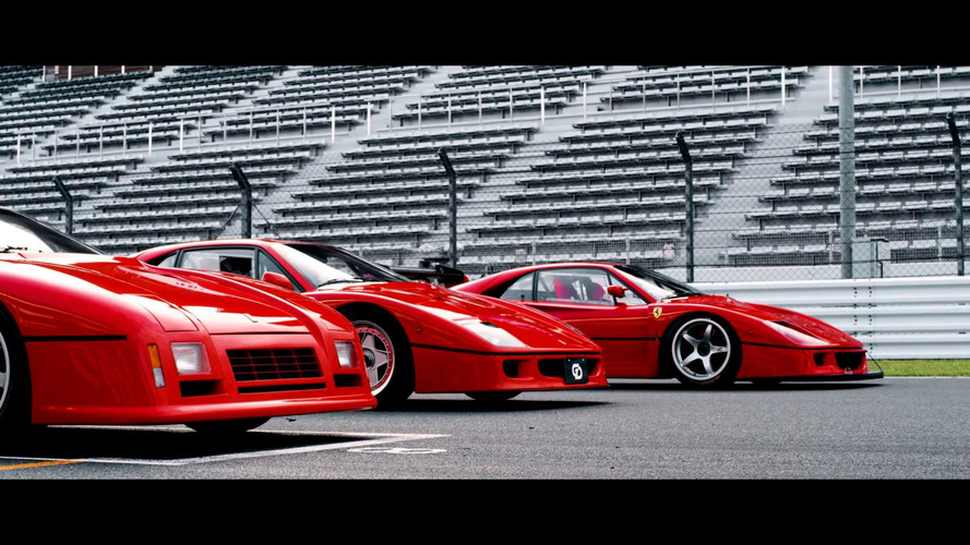 Watch These Gentlemen Honour The Ferrari 288 GTO Evo And F40 LM