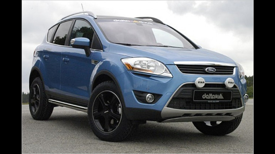 Stärker und stylischer: Delta4x4 tunt den neuen Ford Kuga