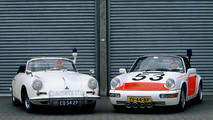 Netherlands Police Forces drove Air Cooled Porsche
