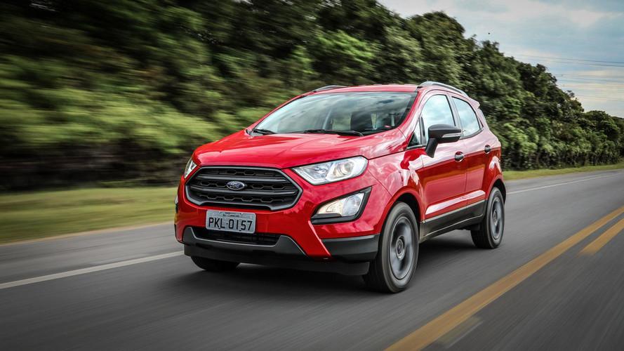 Ford EcoSport 2019 fica mais barato, mas perde 7 airbags em quatro versões