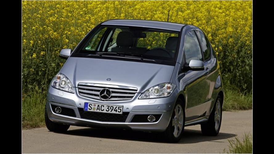 Mercedes erweitert die Modell-Palette bei den Kompaktwagen
