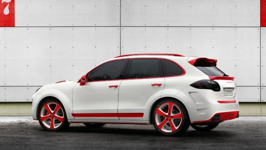 Porsche Cayenne Vantage 2 Red Dragon by TopCar revealed