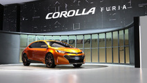 Toyota Corolla Furia concept live in Detroit 14.01.2012