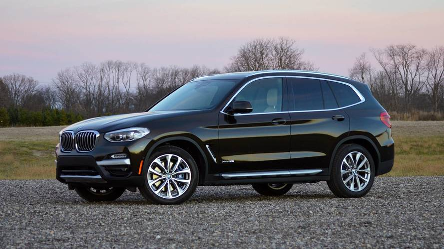 2018 bmw x3 review the lux cuv segment gets deeper. Black Bedroom Furniture Sets. Home Design Ideas