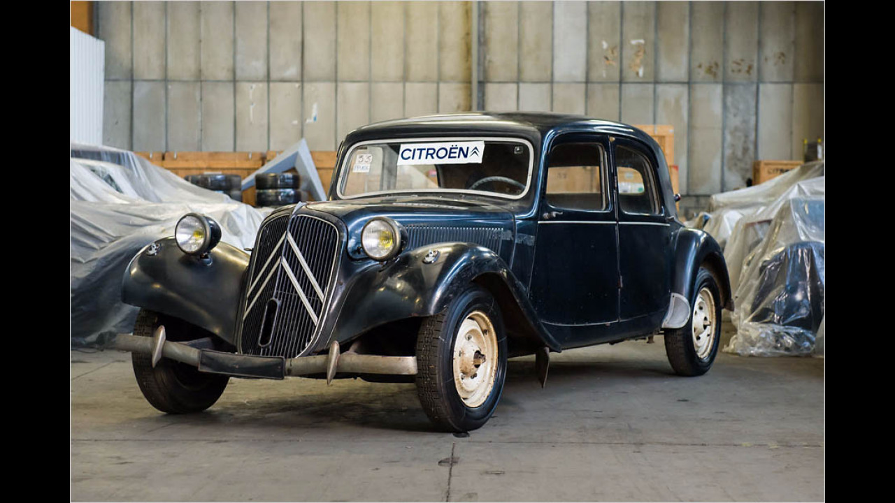 1953 Citroën Traction Avant 11 B