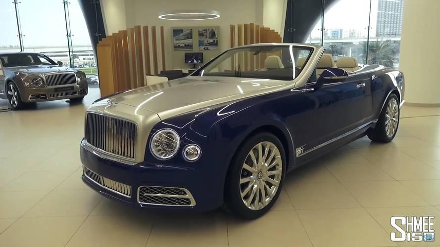 Bentley Quietly Debuted $3.5-Million Grand Convertible In Dubai