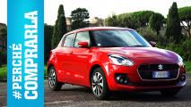 Suzuki Swift, perché comprarla… e perché no