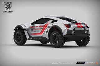 Zarooq Sand Racer Concept Looks Familiar, Promises to be Different