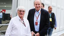 Bernie Ecclestone, with Former Spanish King Juan Carlos