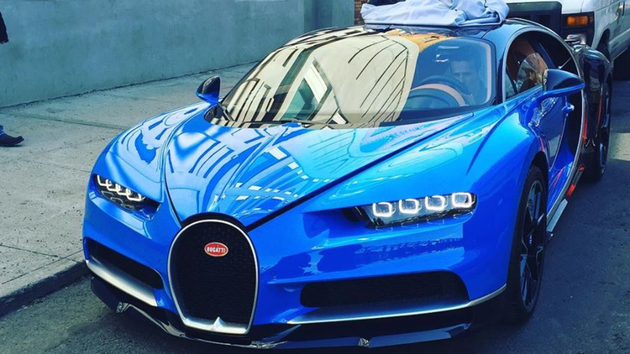 Bugatti Chiron spotted on NYC streets