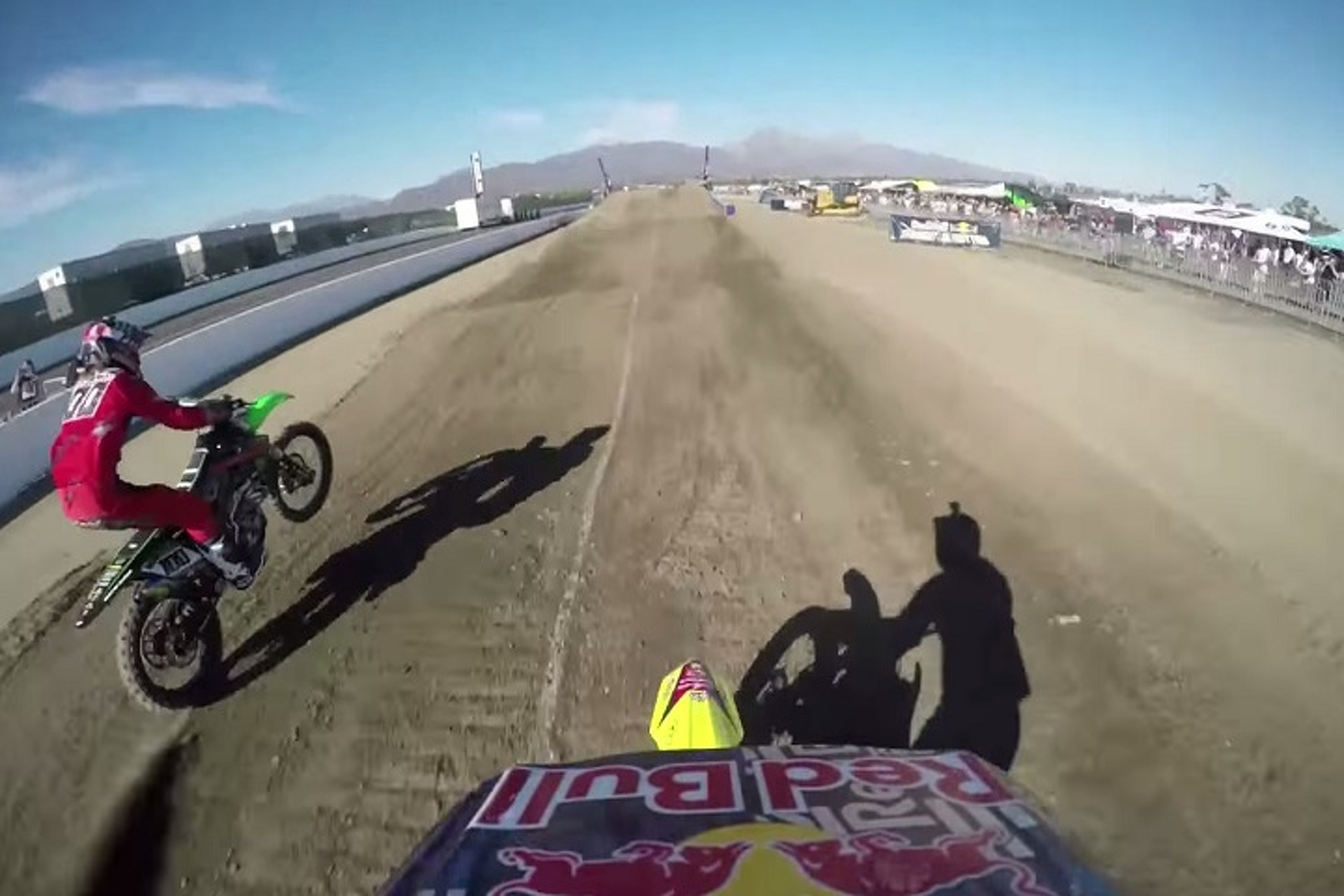 Watch Travis Pastrana's Incredible Dirt Bike Backflip from his POV