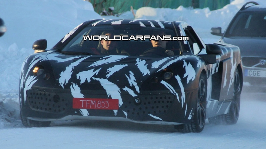 McLaren P11 Prototype Caught for First Time
