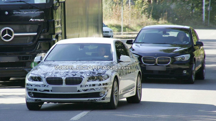 2011 BMW 5 Series F10 Reveals More Skin
