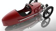Morgan SuperSports Junior 3-wheeler pedal car revealed